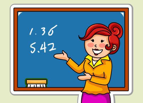 三、认识小数(1) 数学教师